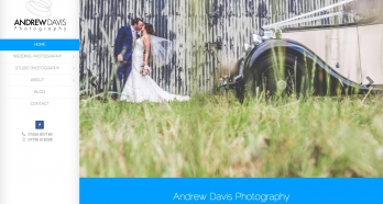 Andrew Davis Photography Branding, Website Design and Development