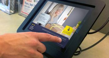Leeds Building Society iPad Kiosks