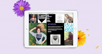 Lady Garden Campaign website