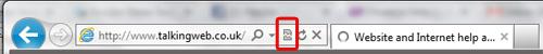 IE9 address bar tool bar