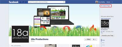 Facebook Fan Page Timeline